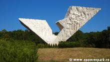 Serbien das Museum 21. Oktober in Kragujeva