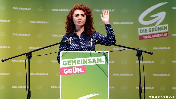 Berivan Aslan, österreichische Politikerin (Johann Groder/AFP)