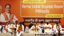 West Bengal BJP J.P Nadda Indien