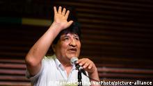 Argentinien Buenos Aires | Pressekonferenz: Evo Morales