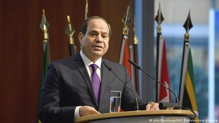 Chefe de Estado egípcio, Abdel Fattah al-Sissi