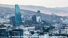 Georgien Ausblick über Tiflis