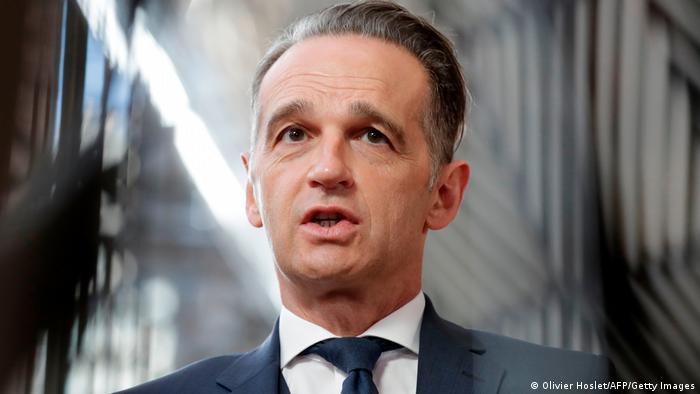 Brüssel | EU Außenministertreffen Heiko Maas PK