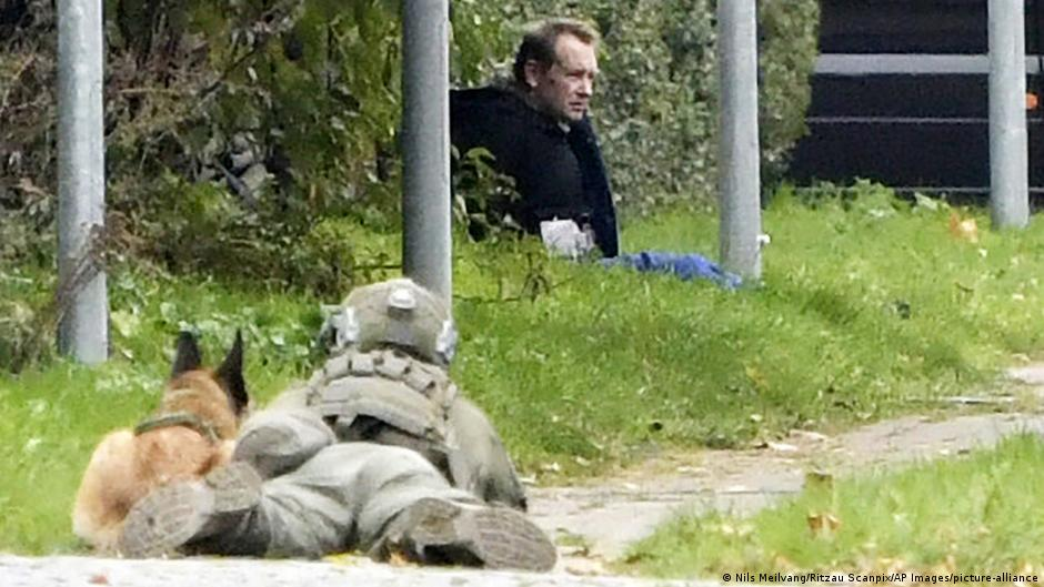 Danish submarine murderer Madsen caught after escaping prison