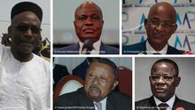 Kombibild Oppositionsführer Westafrika 2020