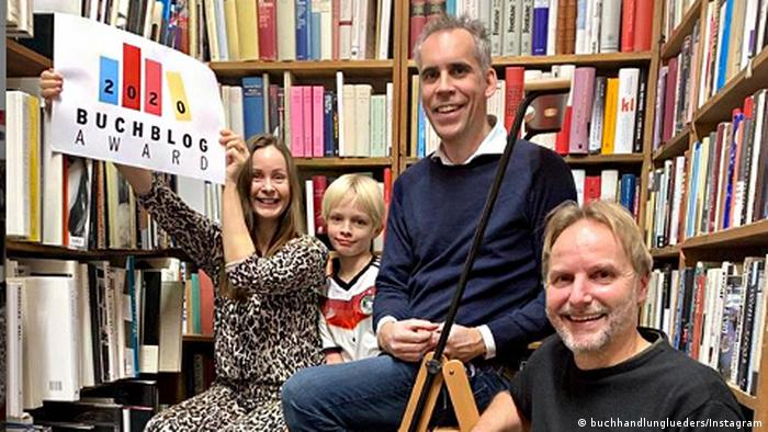 Buchblog Award 2020 Buchhandlung Lueders