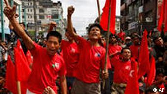 Supporters of the Communist Party of Nepal (Maoist) had been urging the prime minister's resignation for months