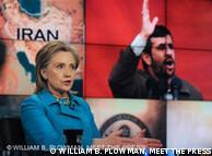 Clinton quer  sanções