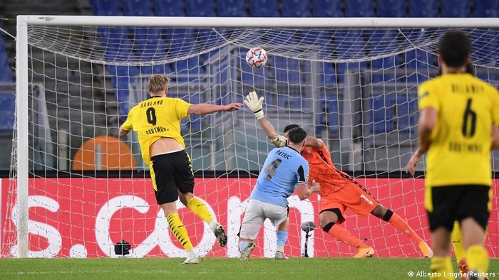 Fußball | Champions League | Lazio Rom - Borussia Dortmund (Alberto Lingria/Reuters)