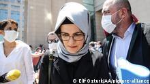 Türkei Istanbul | Prozessbeginn Mord an Jamal Khashoggi | Hatice Cengiz