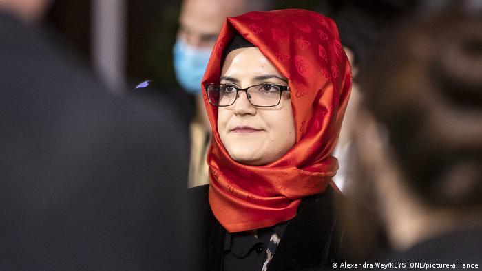 Hatice Cengiz, the fiancee of slain Saudi journalist Jamal Khashoggi