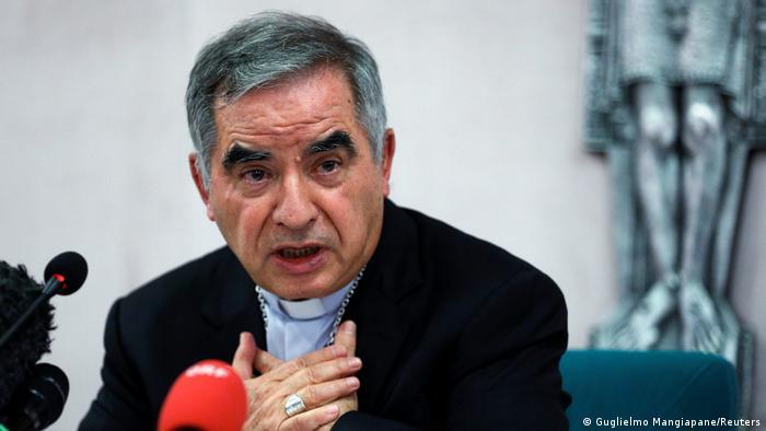 کاردینال آنجلو بچیو متهم به اختلاس و سواستفاده از اموال واتیکان به نفع خود و نزدیکانش است