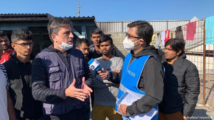 Bosnien und Herzegowina Flüchtlingslager Miral