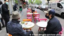 Deutschland Köln | Corona-Pandemie | Außengastronomie