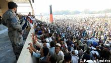 Afghanistan Massenpanik in Jalalabad