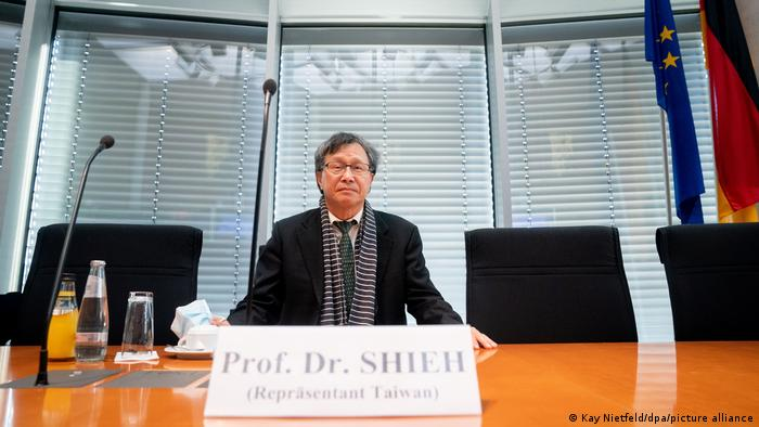 Deutschland Repräsentanten Taiwans im Menschenrechtsausschuss