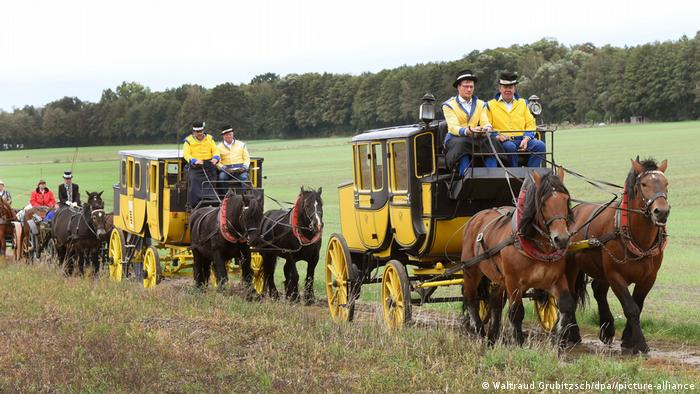 BdT Deutschland Herbstausfahrt mit historischen Kutschen