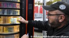 Автомат по продаже туалетной бумаги в Дюссельдорфе