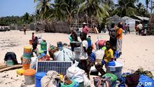 Mosambik Pemba | Geflüchtete Menschen | Paquitequete Strand
