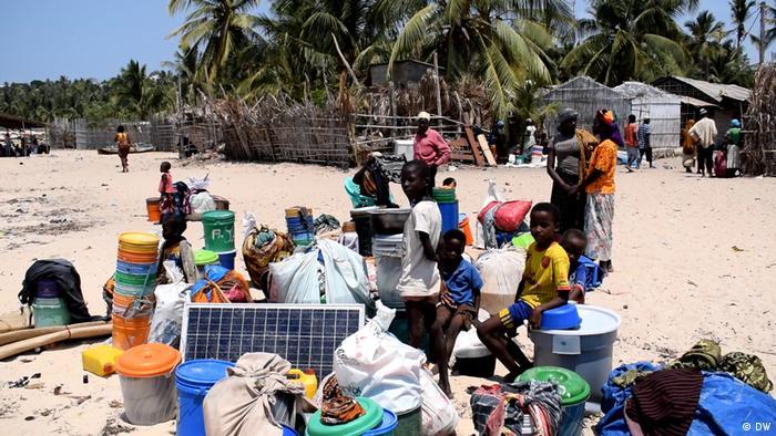 Mosambik Pemba | Geflüchtete Menschen | Paquitequete Strand (Delfim Anacleto/DW)