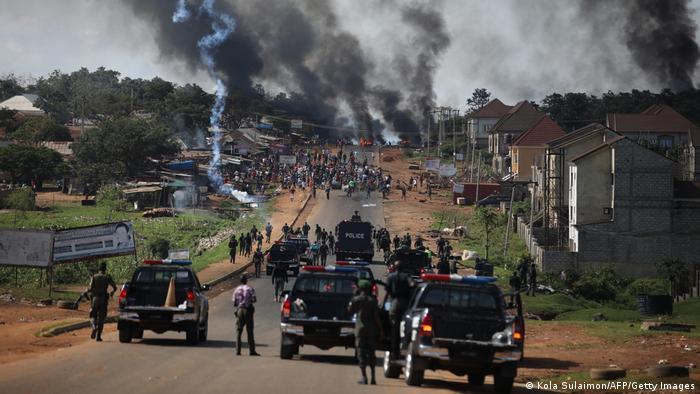 Nigeria Abuja | Aussschreitungen