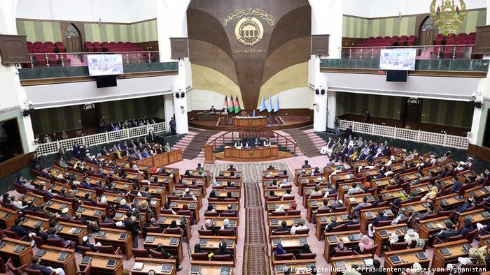 Afghanistan Präsident Ghani stellt seine neuen Kabinettsmitglieder vor
