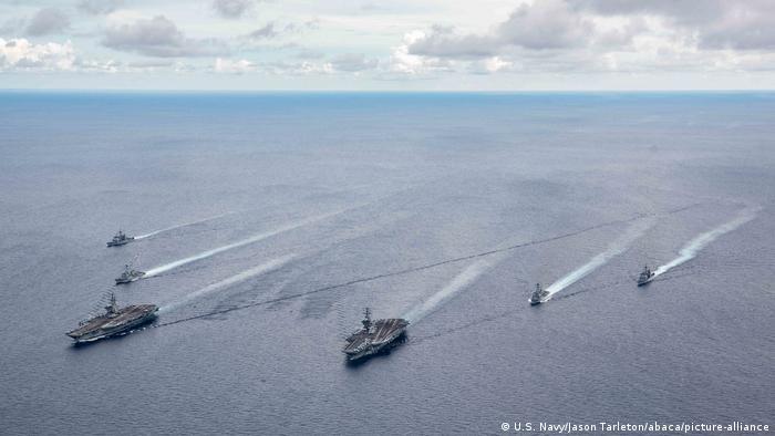 US Navy Flugzeugträger