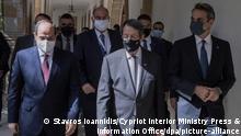 Trilateraler Gipfel auf Zypern