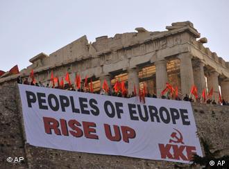 La tragedia griega tomó a Europa por sorpresa.