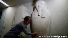 Berlin Museumsinsel   Zahlreiche Kunstwerke beschädigt Ahmose Sarkophag