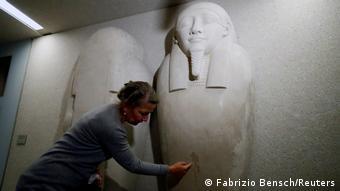 Berlin Museumsinsel | Zahlreiche Kunstwerke beschädigt Ahmose Sarkophag