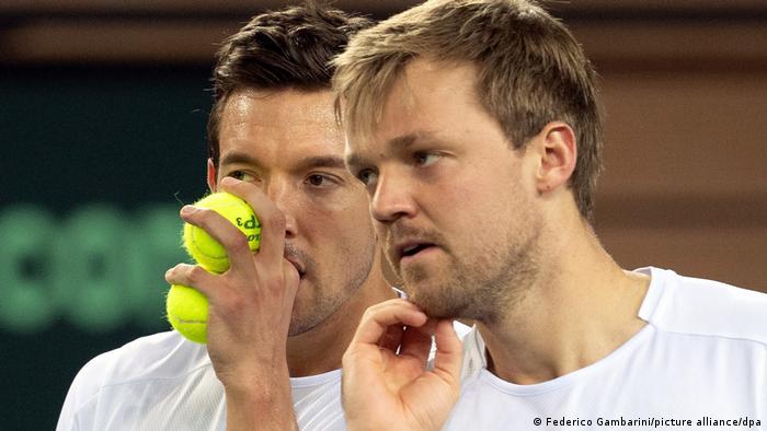Düsseldorf   Tennisdoppel Andreas Mies/Kevin Krawietz