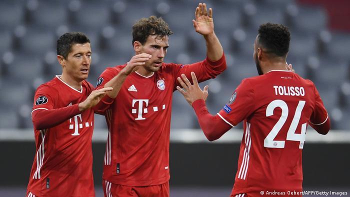 Fußball Champions League   Bayern München vs Atletico Madrid