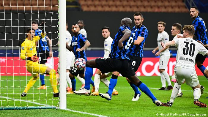 Fußball Champions League   Inter Mailand vs. Borussia Mönchengladbach