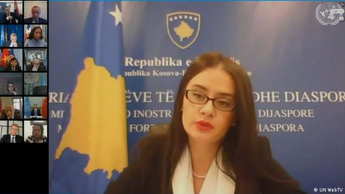 Videokonferenz UN Security Council | Meliza Haradinaj
