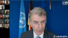 Videokonferenz UN Security Council | Christoph Heusgen