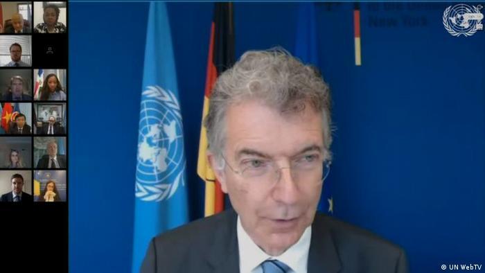 Videokonferenz UN Security Council | Christoph Heusgen