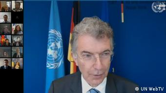 Videokonferenz UN Security Council | Christoph Heusgen (UN WebTV)