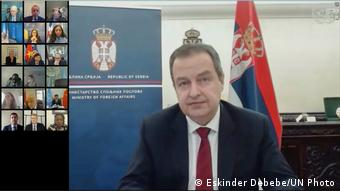 Videokonferenz UN Security Council | Ivica Dacic