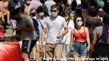 Brasilien Sao Paolo Coronavirus | Straßenszene