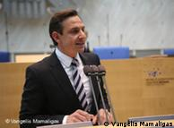 Dr. Jorgo Chatzimarkakis, MdEP, Präsident der Deutsch-Hellenischen Wirtschaftsvereinigung.  Photo von der Jubiläumsfeier im Bonner Plenarsaal zum Festakt 50 Jahre Griechen in Deutschland, 2. Mai 2010. (Photo: Vangelis Mamaligas)