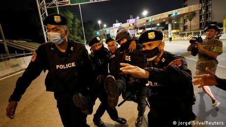 Thailand Bangkok | Pro-Democracy Proteste (Jorge Silva/Reuters)