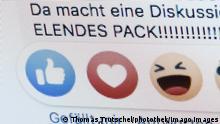Symbolbild Hatespeech | Hasskommentare (Thomas Trutschel/photothek/Imago Images)