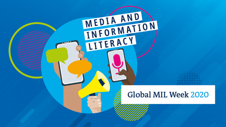 Media and Information Literacy key visual