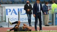 Fussball | Serie A Lazio Rom vs inter Mailand