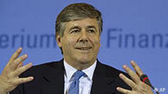 Deutschland Wirtschaft Deutsche Bank Josef Ackermann zu Finanzkrise Griechenland