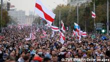 Belarus: Protest in Minsk (im September) (TUT.BY/AFP/Getty Images)