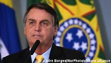 Brasilien Bolsonaro verkündet Ergebnisse der klinischen Studie COVID-19