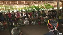 Gymnasiasten aus Ecuador besuchen die Achuar-Indigenen-Gemeinschaft in Wachirpas