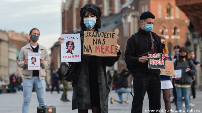Polen | Protest gegen Abtreibungsverbot